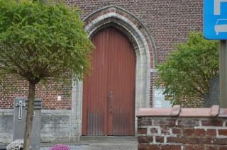 kerkdeur voor